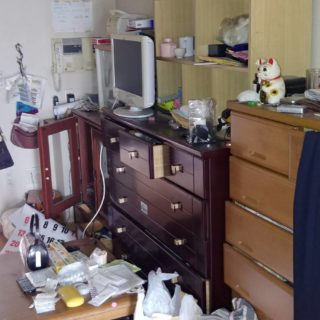 【遺品整理士認定協会】神戸市長田区 W邸 遺品整理作業